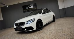 Mercedes Benz C220d Aut. C63 AMG LOOK, PANO, LUFT, BURMESTER, DISTRONIC, 4xCAM