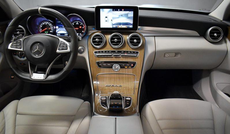 Mercedes Benz C220d Aut. C63 AMG LOOK, PANO, LUFT, BURMESTER, DISTRONIC, 4xCAM voll
